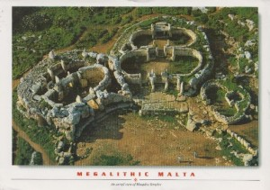 Temples of Ggantija in Malta