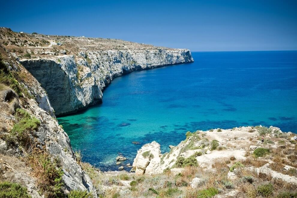 comino/malta/blue sea