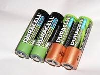 English shopping vocabulary - batteries