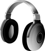 English shopping vocabulary - headphones