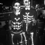 Spooky Halloween skeleton costumes