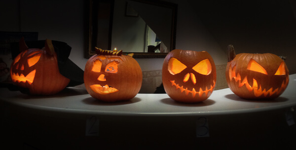 Great Halloween jack o'lanterns