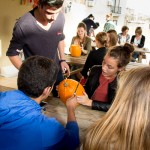 Pumpkin carving at Maltalingua
