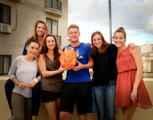 Pumpkin carving team 2