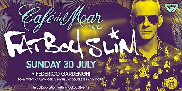 Fatboy Slim at Cafe Del Mar Malta