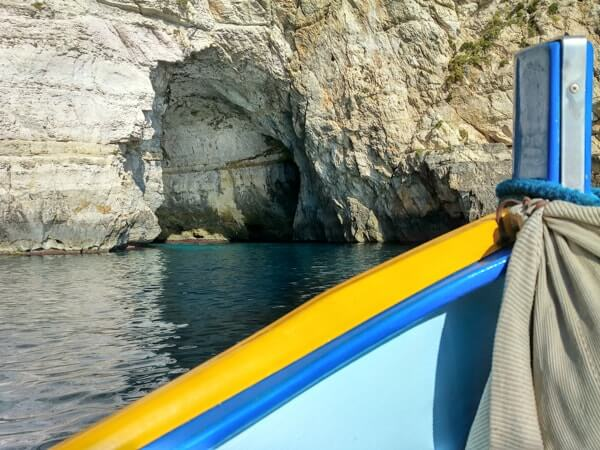 Blue Grotto boat trip