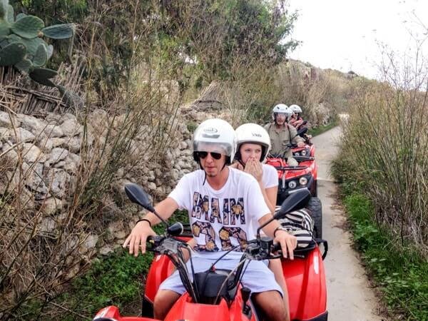 Quad bike tour of Gozo