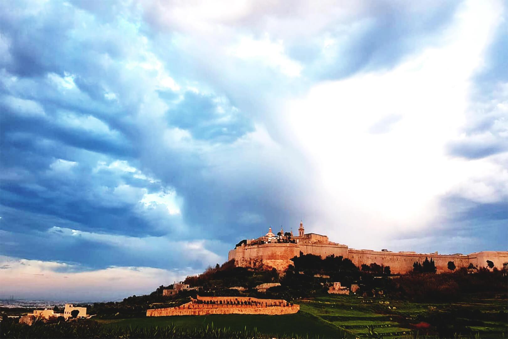 View of Mdina