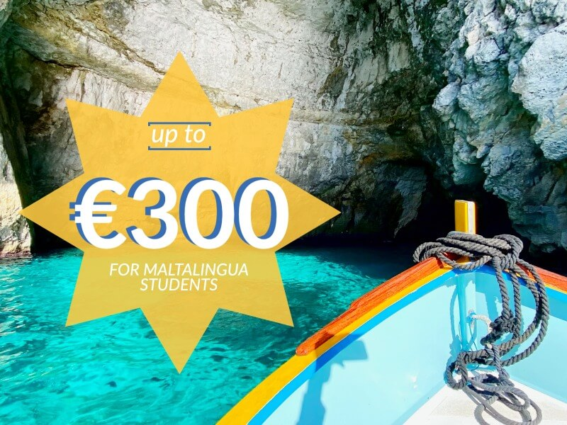 €300 for Maltalingua Students